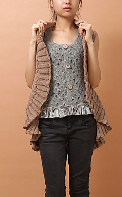 Stylish Cotton-terylene Evening/Casual Vest(More Colors)