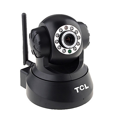 TCL-Wireless IP Camera with Pan Title(Works under both Apple MAC and Safari)