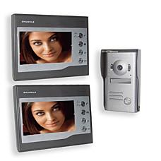 venta al por mayor interfono cámara CCD + 2 reveivers (pantalla de 7 pulgadas LCD)