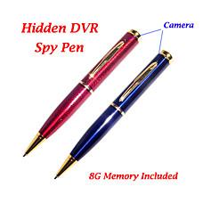 venta al por mayor 8gb bolígrafo espía con grabadora de video + sensor de movimiento