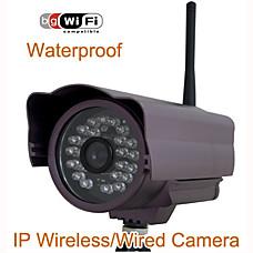 venta al por mayor Cámara IP de seguridad (impermeable, la visión de wifi, noche)