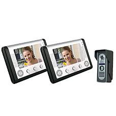 venta al por mayor Villa con dos 7 pulgadas a color LCD de vídeo portero (sy801m12)