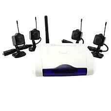 venta al por mayor 4 cámaras de vigilancia inalámbricas + receptores