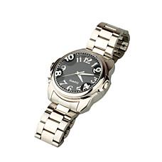 venta al por mayor espía de metal reloj de la cámara de vigilancia DVR / cámara oculta (sz05430139)