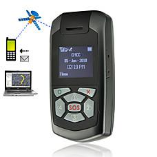 venta al por mayor 20 canales en seguimiento de vista gps gsm personal con pantalla OLED y dos llamadas direcciones (xhs033)