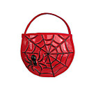 SPIDER TRICK-OR-TREAT HALLOWEEN CANDY TOTE / BAG (WSJY038)(Start From 50 Units)-Free Shipping