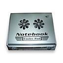 Notebook Cooler Pad with 2 Built-In Fans / Silver (WNB002) (Start From 12 Units)-Free Shipping