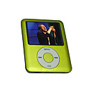 "1.8 ""TFT moda 4 gb mp4 player / verde"