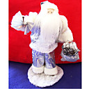 Silver Santa Clause Christmas Ornament (LR051) (Start From 30 Units)-Free Shipping