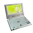 "SHARP 7"" Screen Portable DVD With SONY Console + USB + Card Reading"