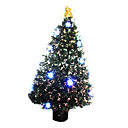 Decorated LED Pine Fiber Potted Christmas Tree,150CM (GQL-021)(Start From 5 Units)-Free Shipping