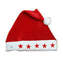 Extra heavy Non-woven Christmas Red Hat (FS007) (Start From 50 Units)-Free Shipping