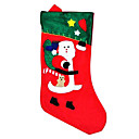Plush Red Christmas Stocking (SDWZ001)(Start From 300 Units)Free Shipping