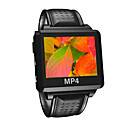 2GB Bluetooth MP4/MP3 Player Watch /1.5&quot; Display /Black /S828-1BT (Start From 5 Units) Free Shipping