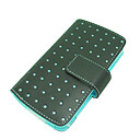 Black Leather Case for Apple iphone Moblie Phone(ip012) -Free Shipping by Air Mail