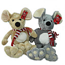 1 PC Plush Mouse With Muffle And Embroidered Palms (MR024)