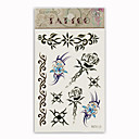 Butterfly &amp; Sword Temporary Tattoos One Sheet  (Start From 50 Units)