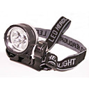 3 LED Head Flash Lamp Light Headlamp Flashlight (XJED025)