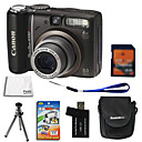 Canon PowerShot A590 IS 8.2MP Digital Camera + 2GB SD Card + 6 Bonus