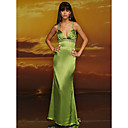 Column Straps Floor-length Taffeta Prom / Evening Dress (HSX310) (Start From 3 Units) Free Shipping