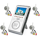 2.5-inch Wireless Four Channel AV Baby Monitor with Four Wireless Night Vision Cameras (SZQ133)