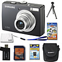Samsung Digimax L100 digitale camera 8.3mp + 2GB SD-kaart + extra accu + 6 bonus