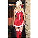 santa kostuum sexy en schattig santa minirok set (sdq303)