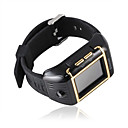 W08 Qua Band Waterproof Watch Style Cell Phone Black-gold SZR084 (Start From 3 Units) Free Shipping