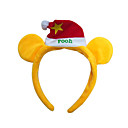 Cute Christmas Head Hoop with Christmas Hat Decoration (SDQ279)