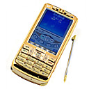 ZTC ZTK1 Dual Sim Card Dual Network GSM and CMDA TV Function Cell Phone Gold