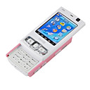 Unlocked Dual webcam MINI N95 FM  Cell Phone Pink  (Not For U.S/Canada)