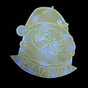 Double Faced Mesh Silhouette Santa's Head Light (SDQ357)