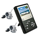 2,5 &amp;quot;TFT 2,4 GHz Vier-Kanal-Babyruf mp4 DVR-Kit mit 2x Nachtsicht Wireless Camera (szq386)