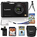 Panasonic Lumix DMC-fx180 (FX150) 15mp fotocamera digitale con 2.7inch LCD 4 GB SD + batteria 6 bonus (szw623)