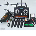 envo gratuito rc apache 3CH mayor control remoto de radio al aire libre al aire libre helicptero