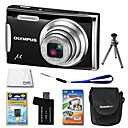 Olympus Mju 1060 10.7MP Digital Camera with 3.0-inch LCD + 1GB xD + Battery + 6 Bonus (SZW669)