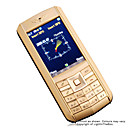 DaXian X520 Dual Card Dual Band FM Cell Phone Gold&amp;Black (Not For U.S/Canada) (SZR407)