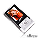2gb de 1,8 polegadas MP3 / MP4 com FM preto (szm102)