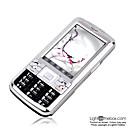 JinPeng 898  Dual Card  Touch Screen FM Cell Phone Silver&Black(SZR429)