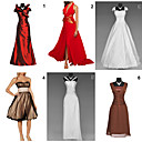 Unique and Fashionable Dresses for Wedding / Party  6 Pieces Per Package (HSQC047)