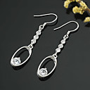 Sterling Silver Fashion CZ Earring -Sterling Silver Earring e22758 (SZY1419)