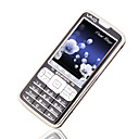 ZTC 2688 Dual Card Quad Band TV Function Touch Screen Cell Phone Black