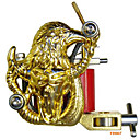 Freeshipping Tattoo Machine Gun 10 Wrap Coils New Pro Tuned (FD007)
