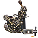 Freeshipping Tattoo Machine Gun 10 Wrap Coils New Pro Tuned (FD015)