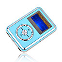 4gb mini mp3 players com alto-falante azul (szm193)