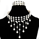 Beautiful  Freshwater Pearl Three-strands necklace and Bracelet Set SZY1773