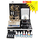 Free Shipping Professional Tattoo Kits Completed Set With 4 Tattoo Guns