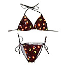 Hot Popular Two Piece Bikini Swimwear Swimsuit, Size M, L, XL (AMS019)