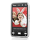 ZTC V688 Dual Card Quad Band Dual Camera TV Function Touch Screen Cell Phone Black