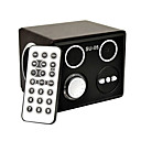 Multi-Media Digital Speaker With Remote Support SD Card USB Disk Wood Black (SU-05)